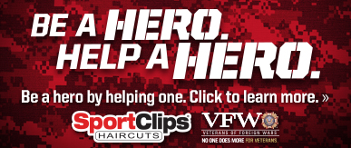 Sport Clips Haircuts of Des Moines - Wakonda on Fleur ​ Help a Hero Campaign
